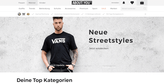 Mode online kaufen bei About You