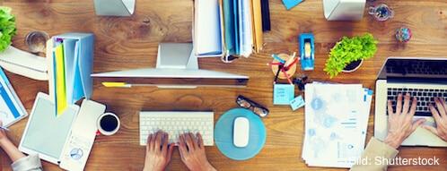 Schreibwaren gehören auf jeden Arbeitsplatz
