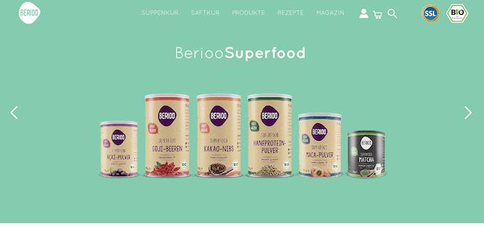 In diesem Online Shop gibt es natürliches Superfood