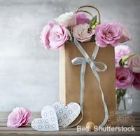 Muttertag Blumen als Überraschung