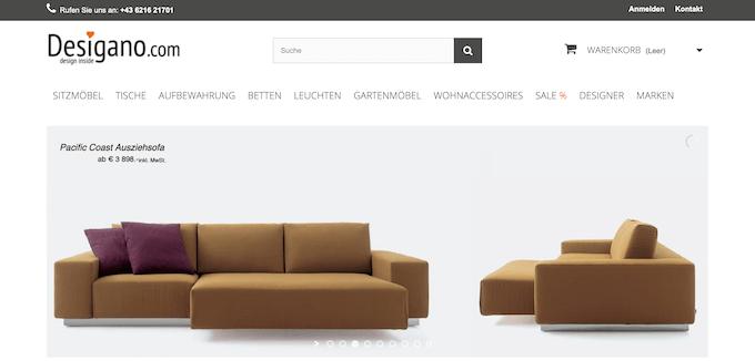 Designer Möbel online kaufen