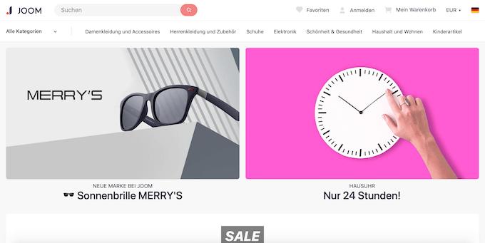 Joom Online-Shop