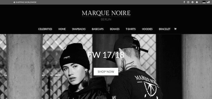 Schwarze Mode kaufen