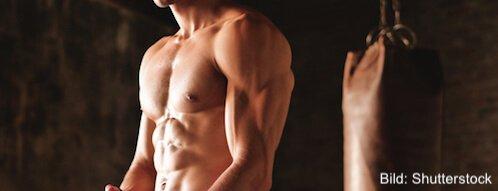 Die richtige Ernährung fördert des Muskelaufbau