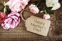 Blumen sind zum Muttertag ein beliebtes Geschenk