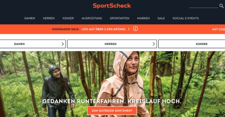 Sportartikel bei Sportscheck kaufen