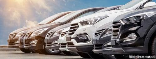Die Auto-Auswahl online ist am höchsten