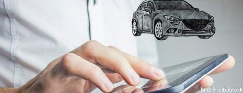 Das Auto online konfigurieren