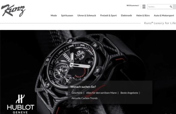 Luxus Uhren kaufen bei carbon-kunz