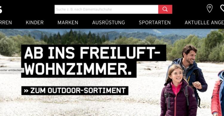Karstadt Sports der Experte im Sportfachhandel
