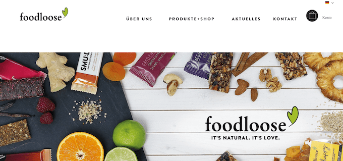 Bei Foodloose gibts Riegel in Bio-Qualität