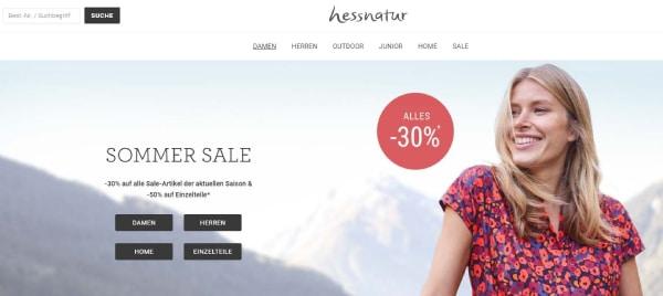 hessnatur Fair Trade Mode einfach online kaufen
