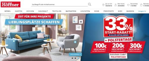 Möbel online kaufen bei Möbel Höffner