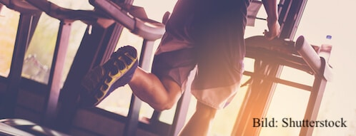 Zum ersten Mal im Fitnessstudio