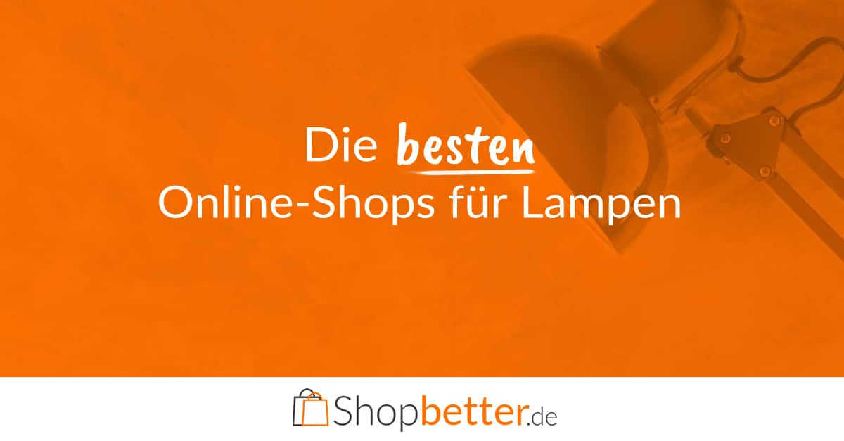 lampen online kaufen die besten online shops finden. Black Bedroom Furniture Sets. Home Design Ideas