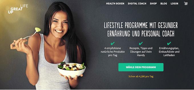 Ernährungsboxen zum Abnehmen
