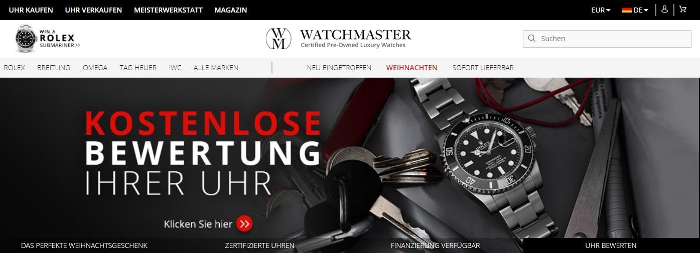 watchmaster gutscheine